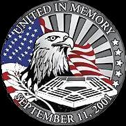 "Photo of Seal commemorating events of 911 and those who are on the front lines in the War Against Terror.  M203.com is dedicated to the military and civilians on the front lines in the War Against Terror, who are honored through pictures taken by soldiers showing the war ""Through the Soldier's Eye""."