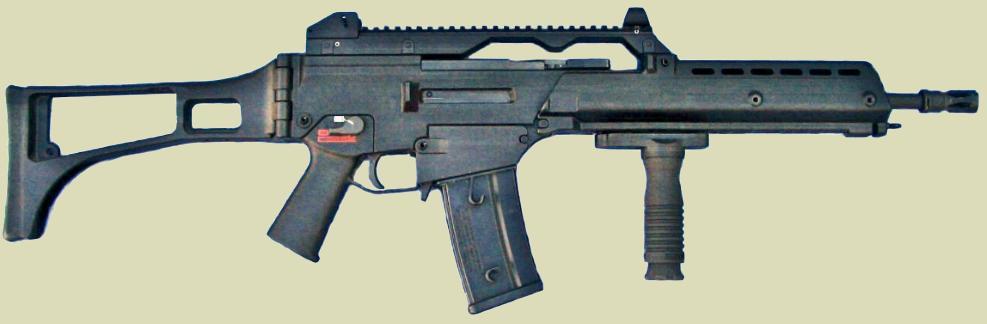 G36grip for the H&K G36 series of weapons